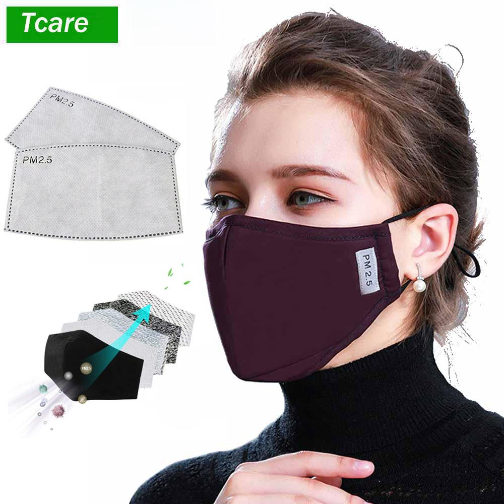 Medicininė PM2.5 veido kaukė su keičiamais filtrais